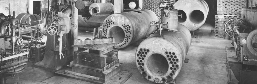 Boilers. Our job since 1906